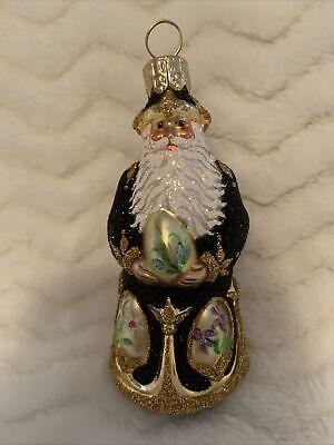 Parricia Breen 2003 Miniature City Santa Ornament