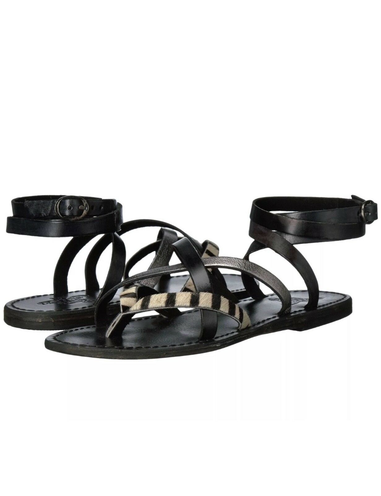 NWT The Buckle FreeBird ankle wrap sandals size 7