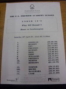 10-04-1999-Nottingham-Forest-Youth-U19-v-Southampton-Youth-U19-Play-Off-Home