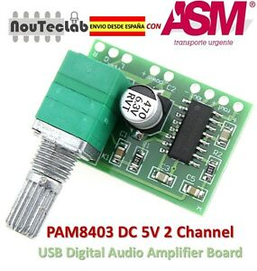 PAM8403-5V-2-Channel-Digital-Audio-Amplifier-with-Potentionmeter-Switch