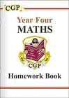KS2 Year 4 Maths: Pt. 1 & 2: Homework Book by CGP Books (Paperback, 1999)