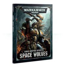 Warhammer 40000 40k Codex Space Wolves Wolfs 8th Edition Good 31119