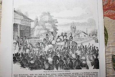 1847 Stich 56 / König Von Dänemark In Hamburg Angenehm Zu Schmecken