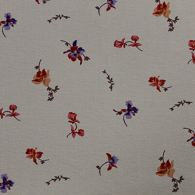 Style P-10008-502 Floral Print Small Lillies on Chelsea Chiffon Fabric