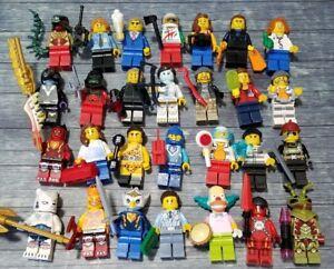 10-NEW-LEGO-AUTHENTIC-MINIFIG-PEOPLE-LOT-random-grab-bag-minifigures-men-girls