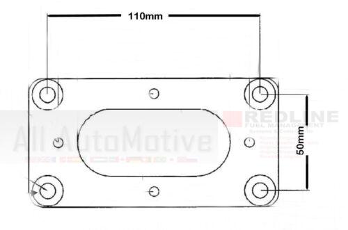 Aus FORKLIFT WEBER Adapter Plate fits NISSAN TB42 Nissan Patrol /& Ford Mavrick