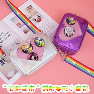 Lolita-Girl-Heart-shaped-Transparency-Itabag-Shoulder-Bag-Cute-Rainbow-Handbag