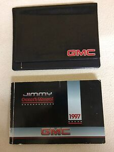 1997 gmc jimmy owner s owners manual guide books literature 2 rh ebay com Fuel Pressure Regulator Location On 1997 GMC Jimmy Customized 1997 Jimmy