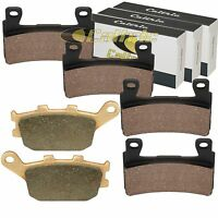 Front And Rear Brake Pads Fits Honda Cb600f Cb600f2 Hornet 600 (japan) 98 99 00