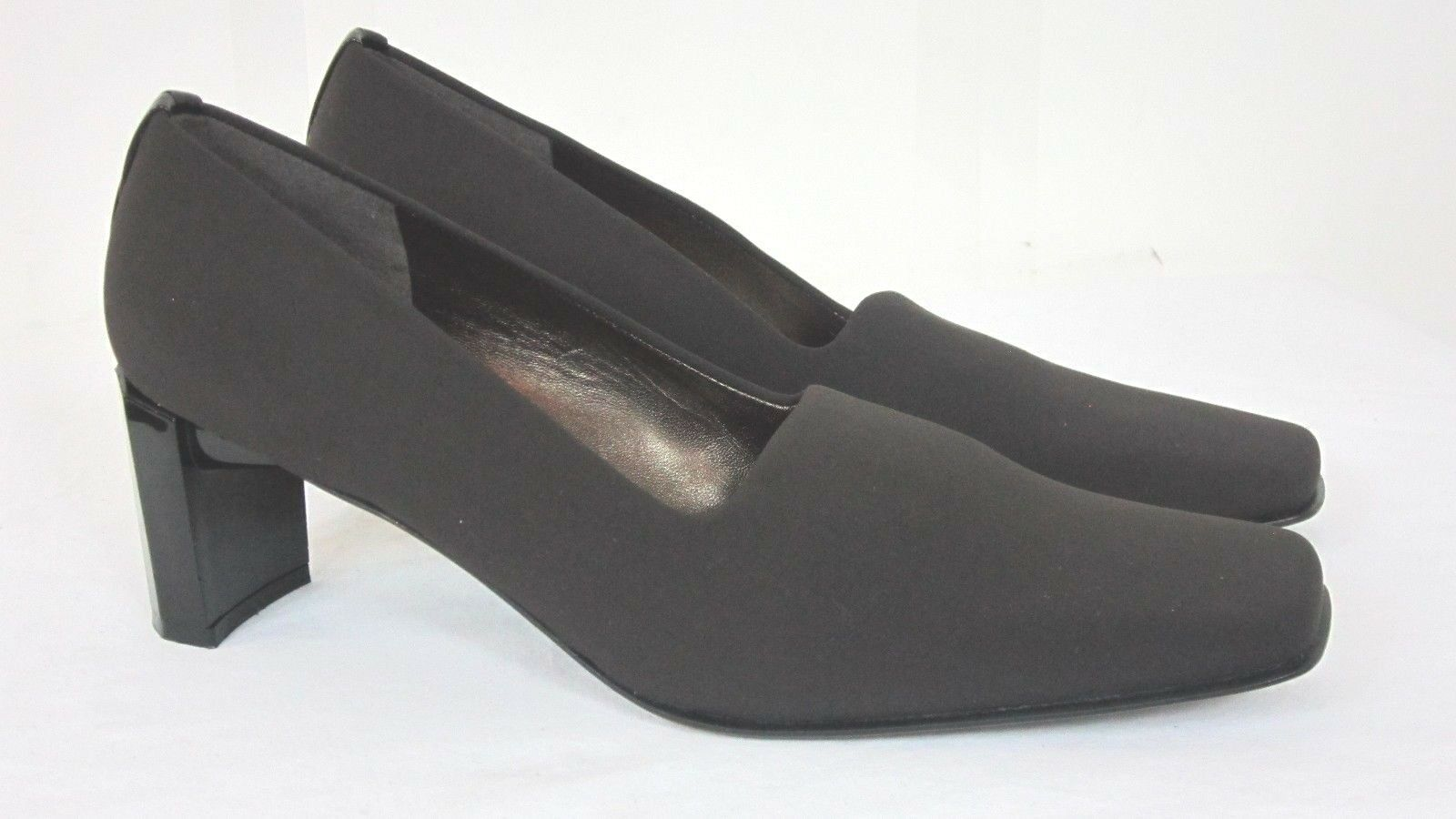 Stuart Square Weitzman damen Größe 9 N braun Square Stuart Toe Heels Pumps Chunky Heel Spain e87958