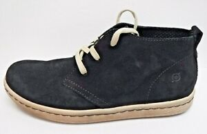 Born-Size-8-Black-Leather-Chukka-Boots-New-Mens-Shoes