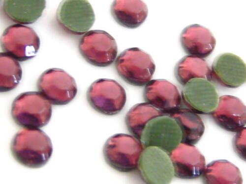 Dark Amethyst Hotfix Rhinestone Crystal SS06 SS10 SS16 SS20 SS30 2mm 3mm 4 5 6mm