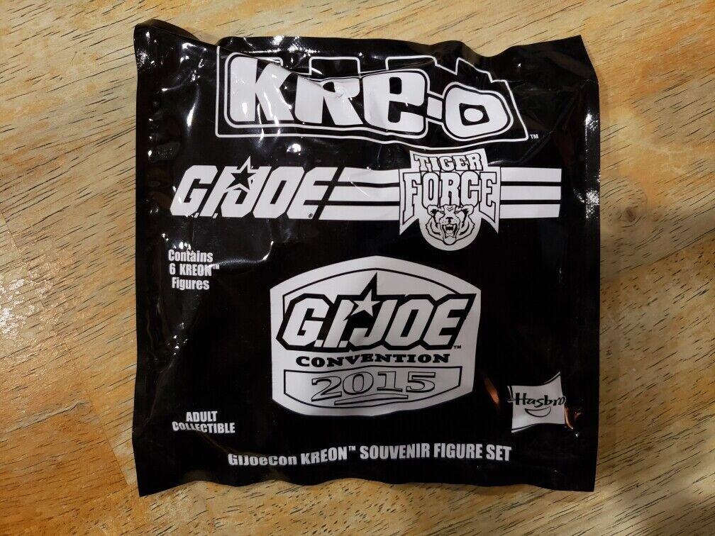 2015 GI JOE convenzione TIGER Force KREO Set COME NUOVO IN SCATOLA SIGILLATA G.I. Joe