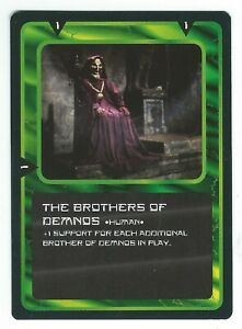 Doctor-Who-Black-Border-CCG-Creature-Card-The-Brothers-Of-Demnos-Common-Card