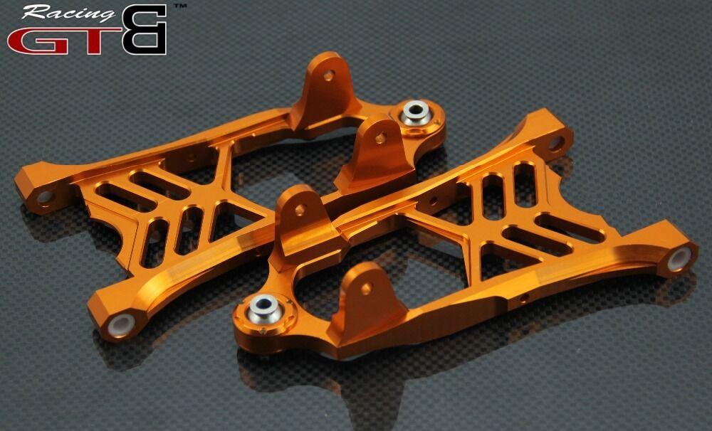 GTB CNC Alloy Front Lower suspension Arm for hpi km rv baja 5b ss 5t 5sc