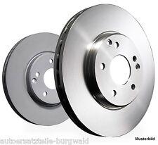 Bremsscheiben Satz (2 St) vorne, Chrysler Cirrus, Sebring (JR), 282 mm 5-loch