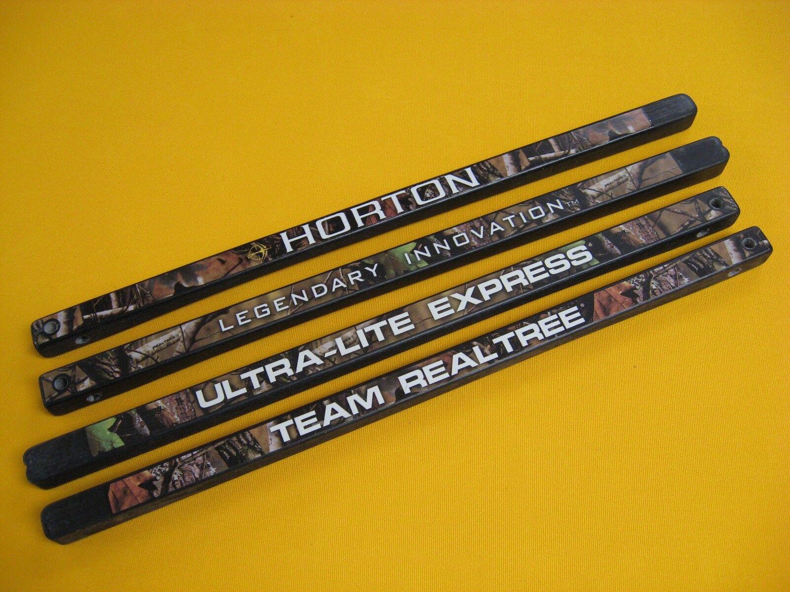New Horton Crossbow Limb Set - Team Realtree Ultra-Lite Express TRT- UL (LR)