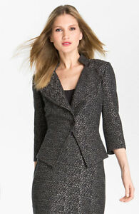 StJohn Knit Jacketmaat Collection 14 Tweed RL34j5A