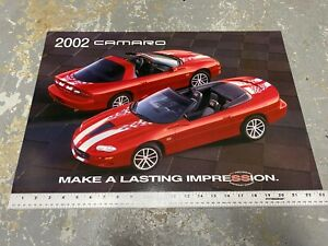 2002-Chevrolet-Camaro-35th-Anniversary-Dealership-Promotional-Sign-RARE