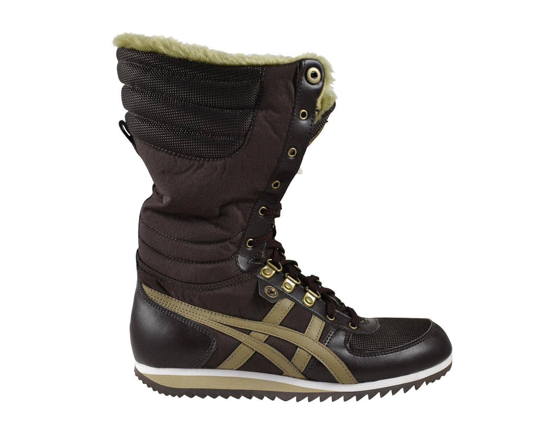 Asics Onitsuka Tiger Kazahana dark braun sand Stiefel Stiefel braun D2E8N 2805