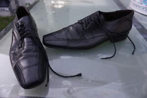 LLOYD-Nobile-Herren-Men-Business-Schuhe-Schnuerschuhe-edel-Gr-8-42-schwarz-Leder