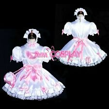 Sissy Maid Dress Satin dress maid Uniform Tailor-made!hg