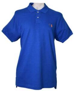 Authentic-Ralph-Lauren-polo-men-039-s-t-shirt-short-sleeve-collar-neck