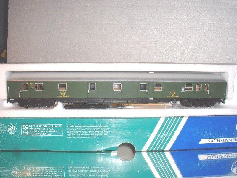 Sachsenmodellolole 74635 Vagone Postale 6001 Post4m Dbp ,DB Ep.3 30 3 cm lungo Molto