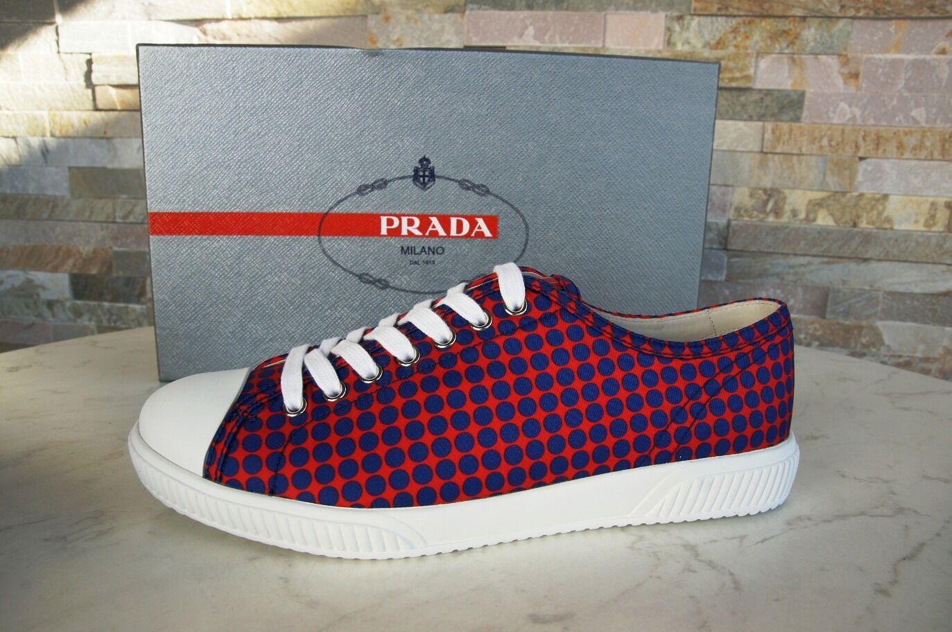 PRADA Gr 40  6 Herren mehrfarbig Sneakers Schuhe schuhe Punkte mehrfarbig Herren  NEU UVP 370 7cd0ac