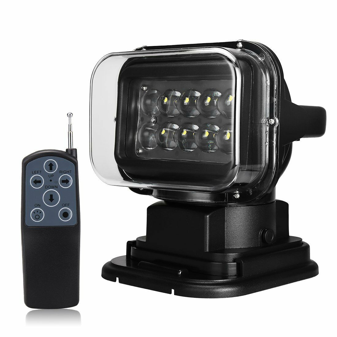 50w led light 12v magnetic spot wireless with remote control search lamp ice ebay. Black Bedroom Furniture Sets. Home Design Ideas