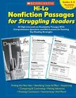 Teaching Resources: Hi-Lo Nonfiction Passages for Struggling Readers : 80 High-Interest - Low-Readability Passages with Comprehension Questions and Mini-Lessons for Teaching Key Reading Strategies (2007, Paperback)