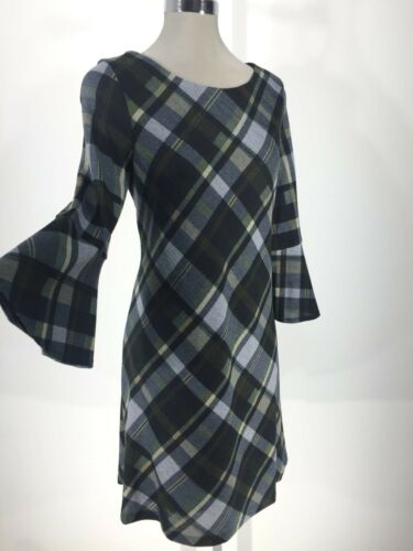 manches Robe Nouvelle 3 étiquette Howard verte 4 à Jessica Miss cloche écossaise avec vqfCWw0