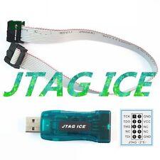 1pcs Avr Usb Emulator Debugger Programmer Jtag Ice For Atmel New M