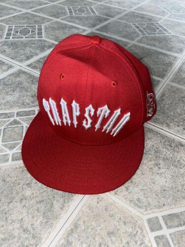 Trapstar Red Snapback