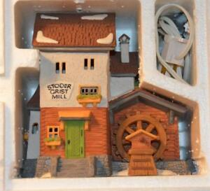 HERITAGE-VILLAGE-ALPINE-VILLAGE-Dept-56-STODER-GRIST-MILL-MIB