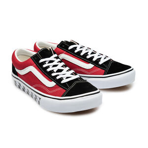fa8a956b Details about Vans Japan Line Old Skool V36OG RDBKCK Red Black Checkerboard
