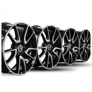 20-Zoll-Felgen-Mercedes-E43-E53-W213-AMG-Alufelgen-A2134014000-A2134012500-NEU
