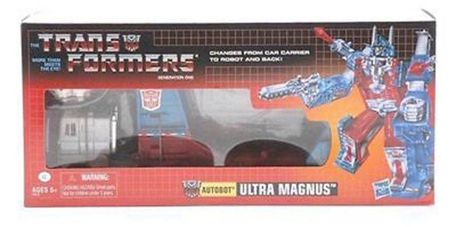 Top Transformers g1 Reissue  Ultra Magnus Comme neuf nouveau dans box jouets pour enfants  beaucoup de surprises