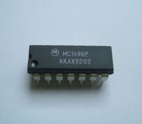 MC1496 P MODULATEUR DEMODULATEUR EQUILIBRE MOTOROLA