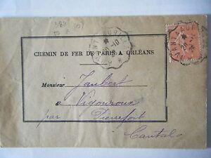 OBLITERATION CONVOYEUR DE LIGNE ARVANT A AURILLAC SUR 199 - France - OBLITERATION CONVOYEUR DE LIGNE ARVANT A AURILLAC SUR 199 SUR ENVELOPPE REGARDEZ MES AUTRES VENTES SVPACHATS MULTIPLES UN SEUL FRAIS D'ENVOI - France