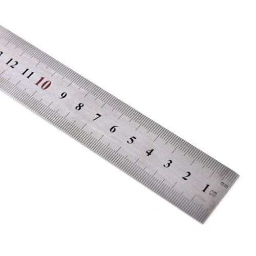 Stainless Steel 15x30cm 90 Degree Angle Metric Try Mitre Square Ruler Scale Z0HW