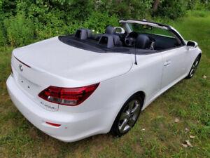 2010 Lexus IS Convertible Backup Camera NAV Coupe (2 door)