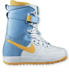 Nike-Zoom-Force-1-ZF1-White-Blue-Rare-Snowboard-Boots-334841-100-Size-11-5-SBB