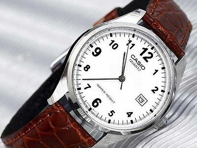Casio MTP-1175E-7B Leather Analog Classic Men Watch