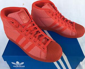 Adidas (Modello A Aq2725 Red Casual Metà Scarpe Da Ginnastica Maschile 9