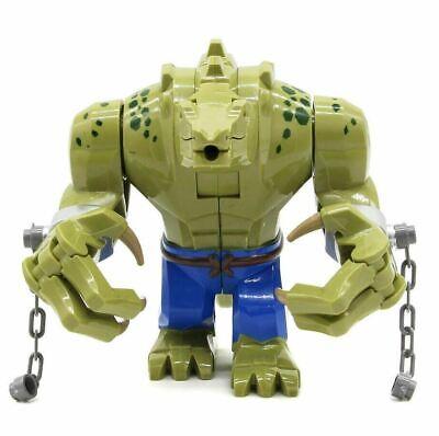Killer Croc Crocodile Killer Batman Movie Lego Moc Minifigure Toys Gift