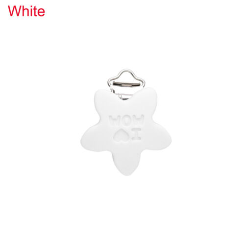 Newborn Nipple Holder Food grade silicone Teether Holder Baby Pacifier Clip