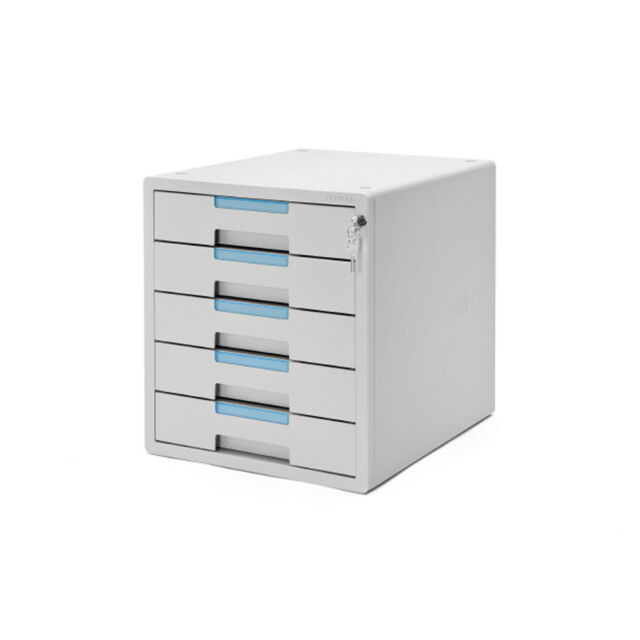 new concept 60810 e40ca System-2 Key File Cabinet 5 Drawers Lock Function Sysmax Office Life 1205K