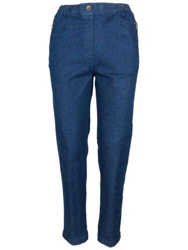 6 colori Sounon Donna Jeans slittamento Pantaloni Jeans Denim Pantaloni stretchjeans