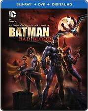 Best Buy + Target Exclusive Batman: Bad Blood Blu-ray Steelbook DVD UV + Comic